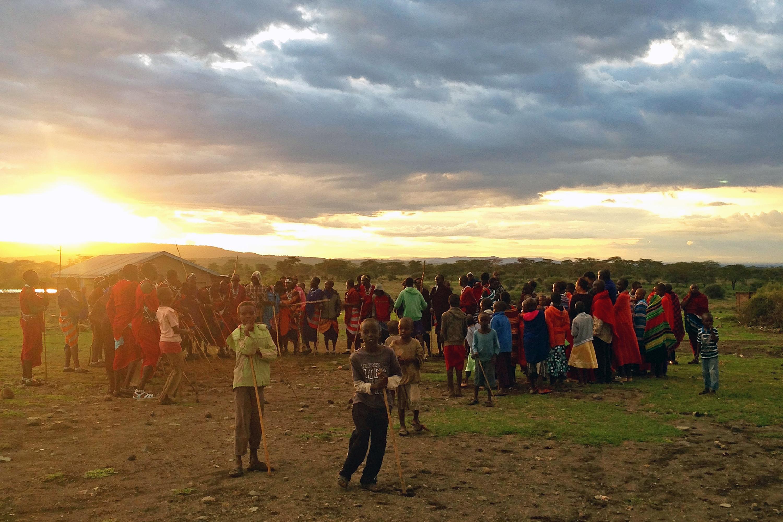 Massai-Hochzeit in Tansania