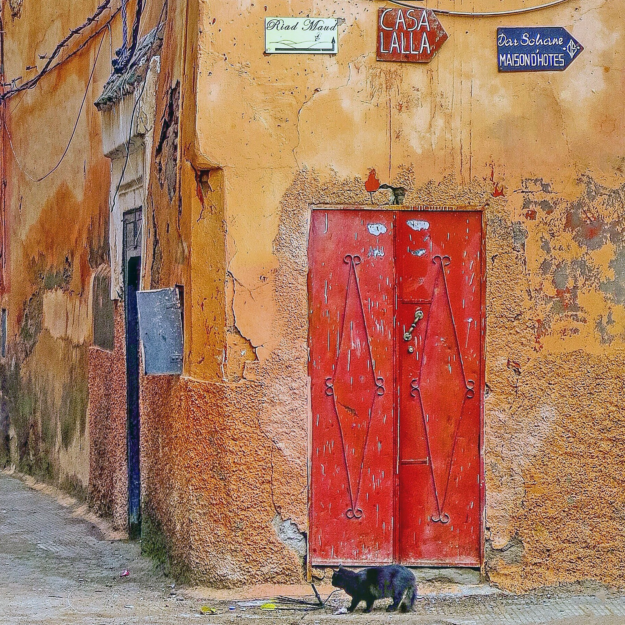 #doorsofinstagram: Marrakesch