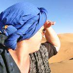 Wandern in der Sahara in Marokko