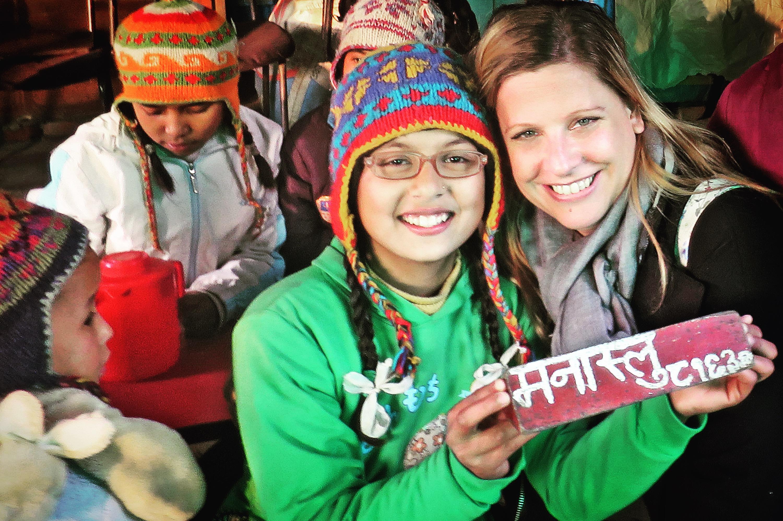 Besuch in einem Kinderheim in Nepal