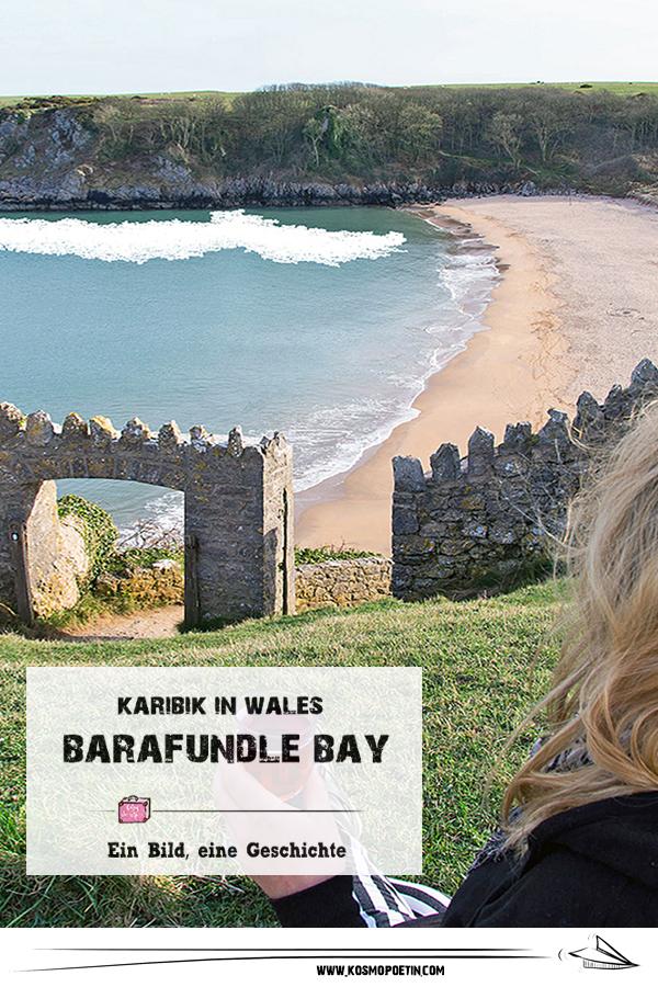 Ein Bild, eine Geschichte: Barafundle Bay in Wales