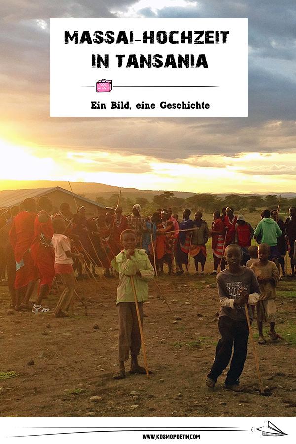 Ein Bild, eine Geschichte: Massai-Hochzeit in Tansania