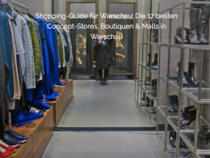Vorschau Warschau Shopping
