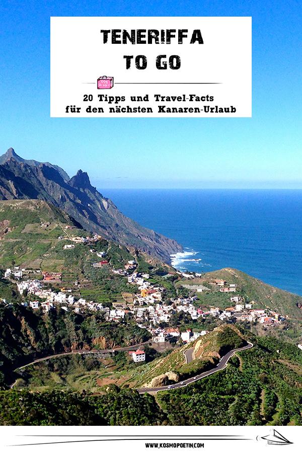 Teneriffa to go: 20 Tipps & Travel-Facts für den nächsten Kanaren-Urlaub