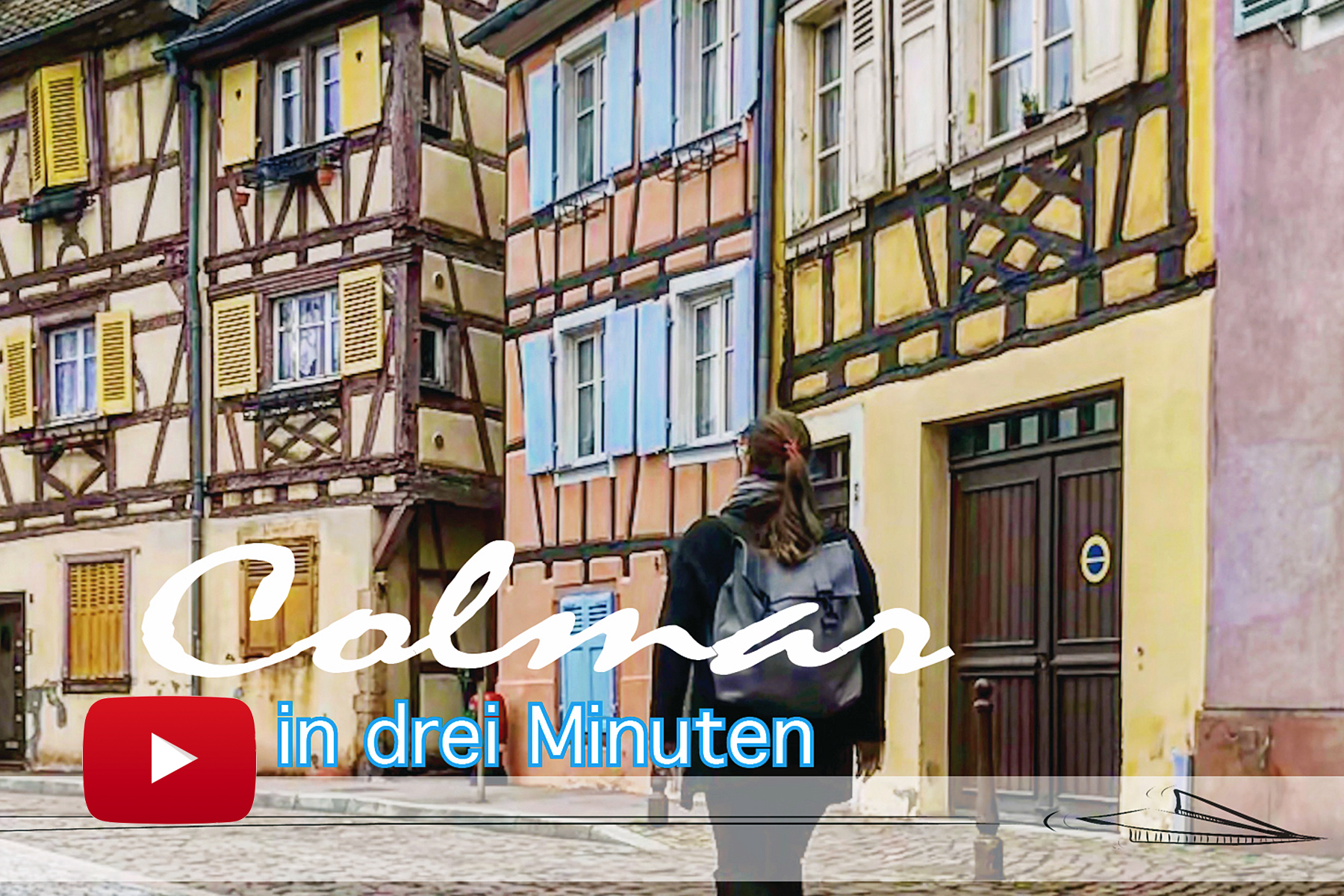 Reise-Video: Colmar in drei Minuten