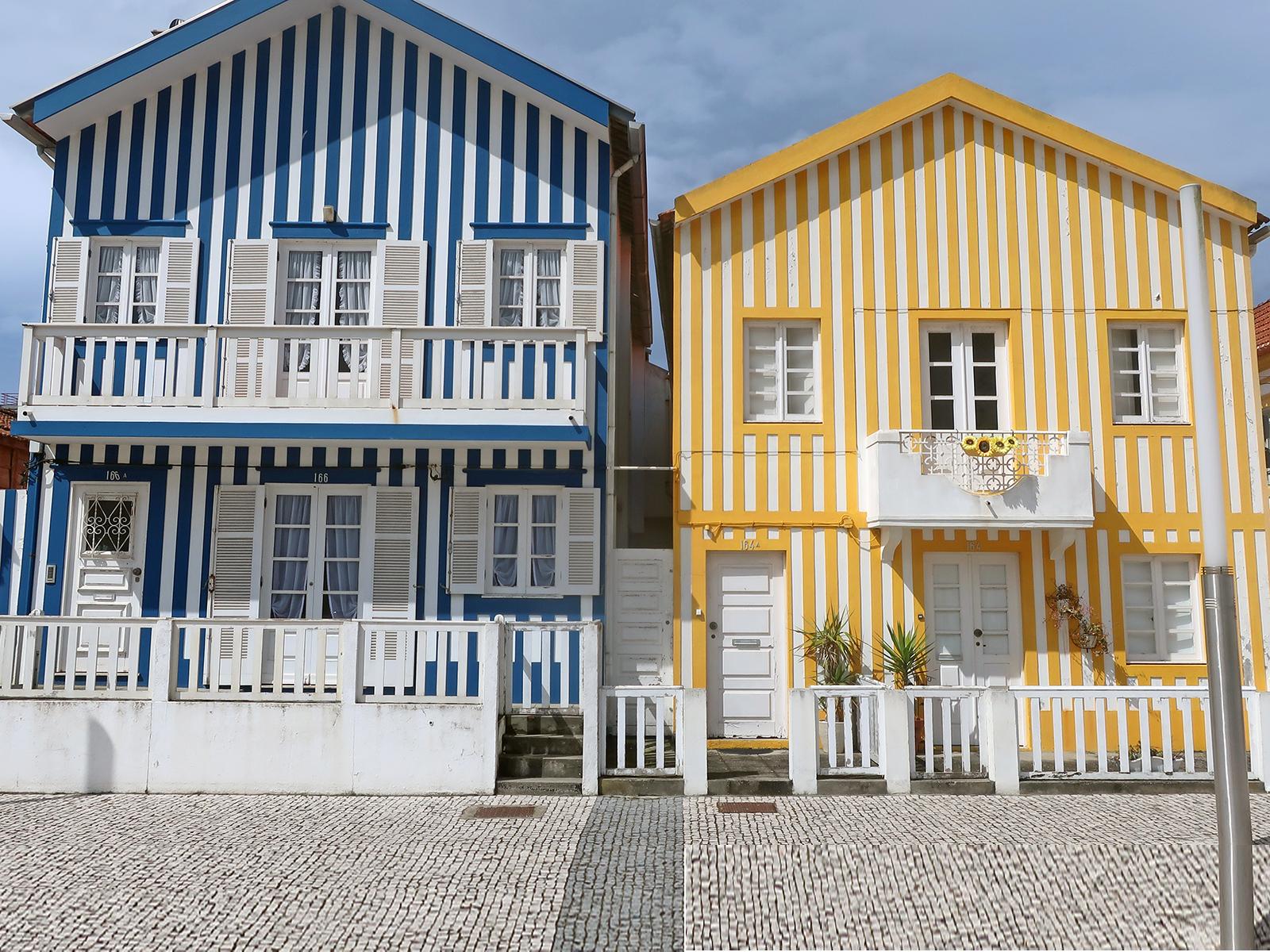 Fischerdorf Costa Nova: Wie die schönsten Streifen Portugals zum Instagram-Hit wurden