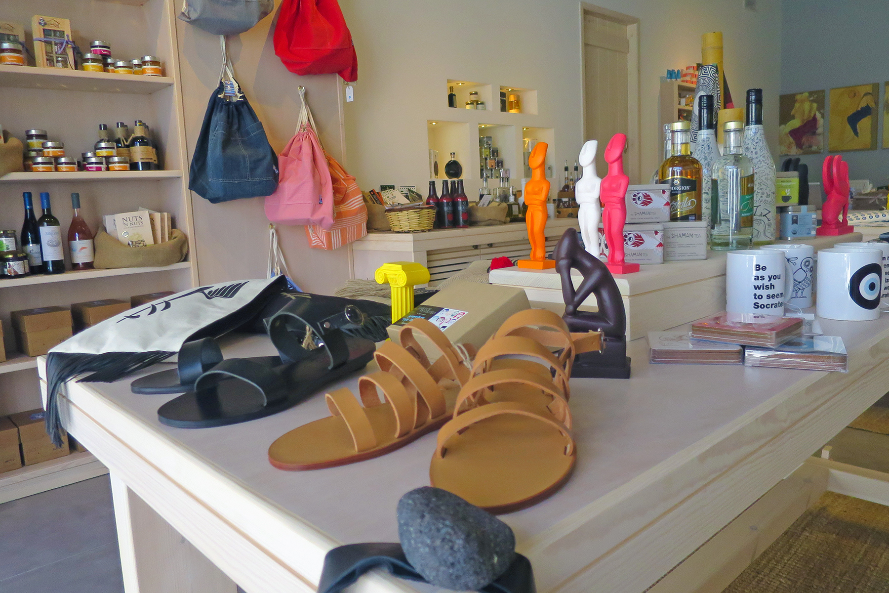 Shopping-Guide für Naxos: 17 Läden abseits der Touristenmassen auf Naxos