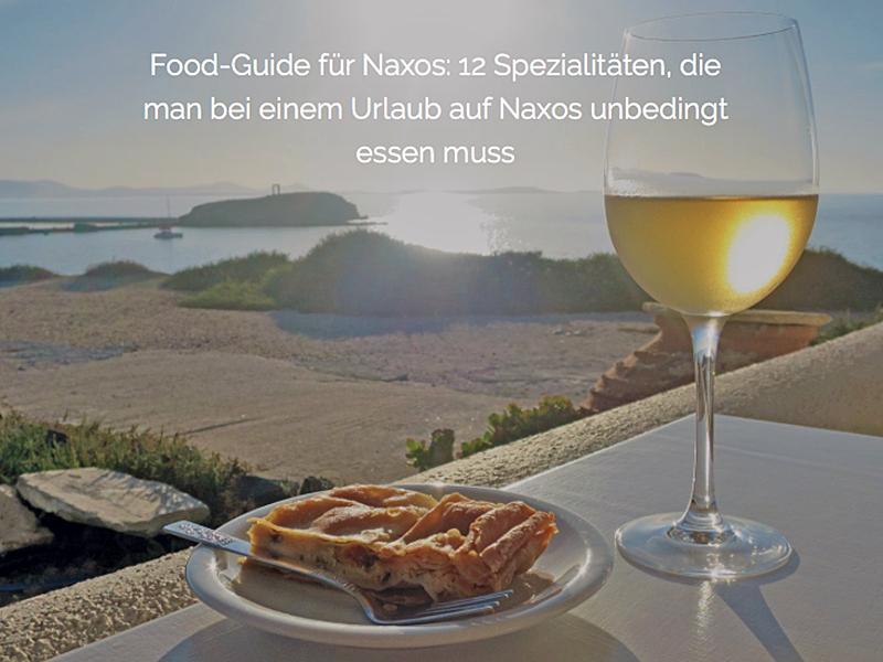 Reise-Special Naxos: Urlaubs-Guide für die schönste Insel der Kykladen