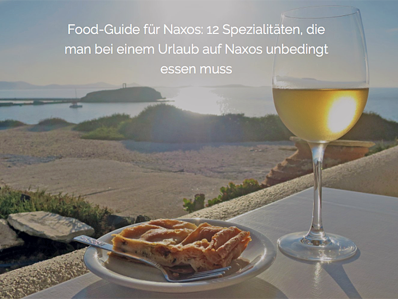 Travel-Talk Naxos: Interview & Insider-Tipps von der Naxiotin Marine Lascaris