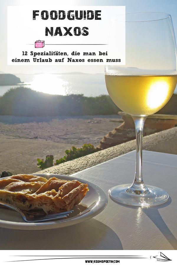 Food-Guide für Naxos: 12 Spezialitäten, die man bei einem Urlaub auf Naxos essen muss
