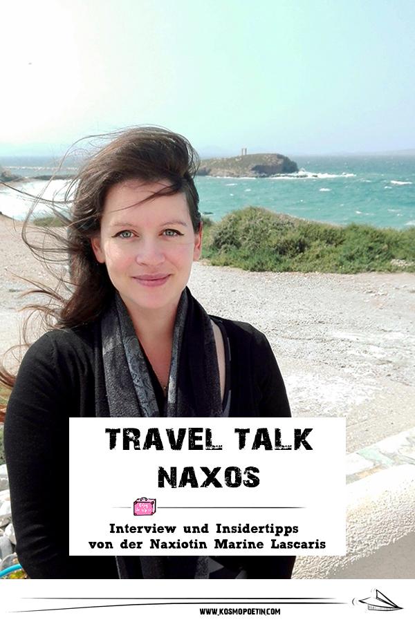 Travel-Talk Naxos: Interview & Insidertipps von der Naxiotin Marine Lascaris