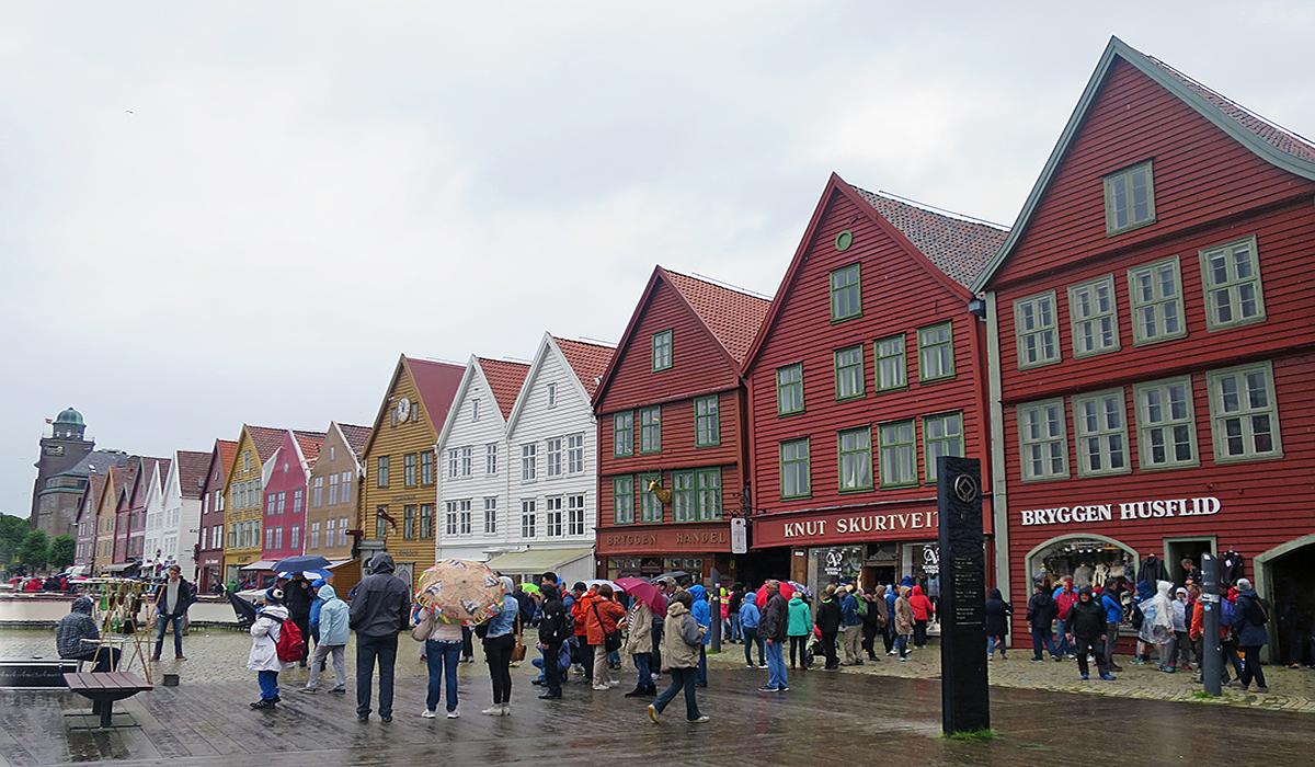 Bergen im Regen: 9 Dinge, die man in der regenreichsten Stadt Norwegens machen kann