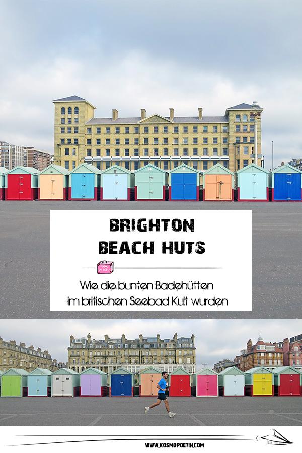 Brighton Beach Huts: Wie die bunten Badehütten im britischen Seebad Kult wurden