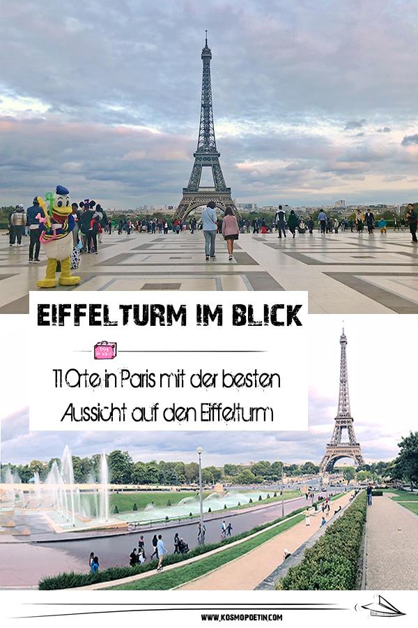 Eiffelturm im Blick: 11 Orte in Paris mit der besten Aussicht auf den Eiffelturm