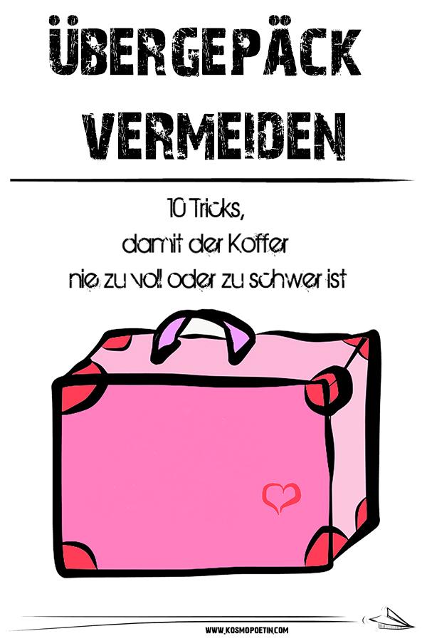 Übergepäck vermeiden: 10 Tricks, damit der Koffer nie zu voll oder zu schwer ist