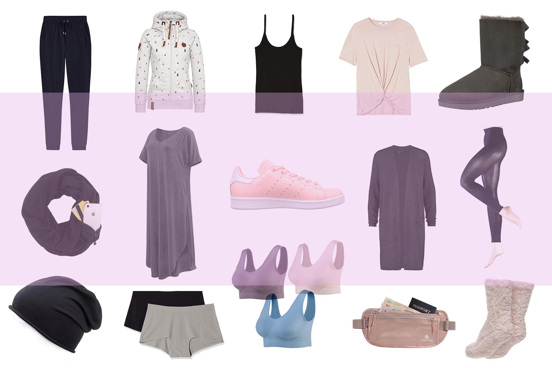 Travel Size: Die ideale Kleidung für einen Langstreckenflug