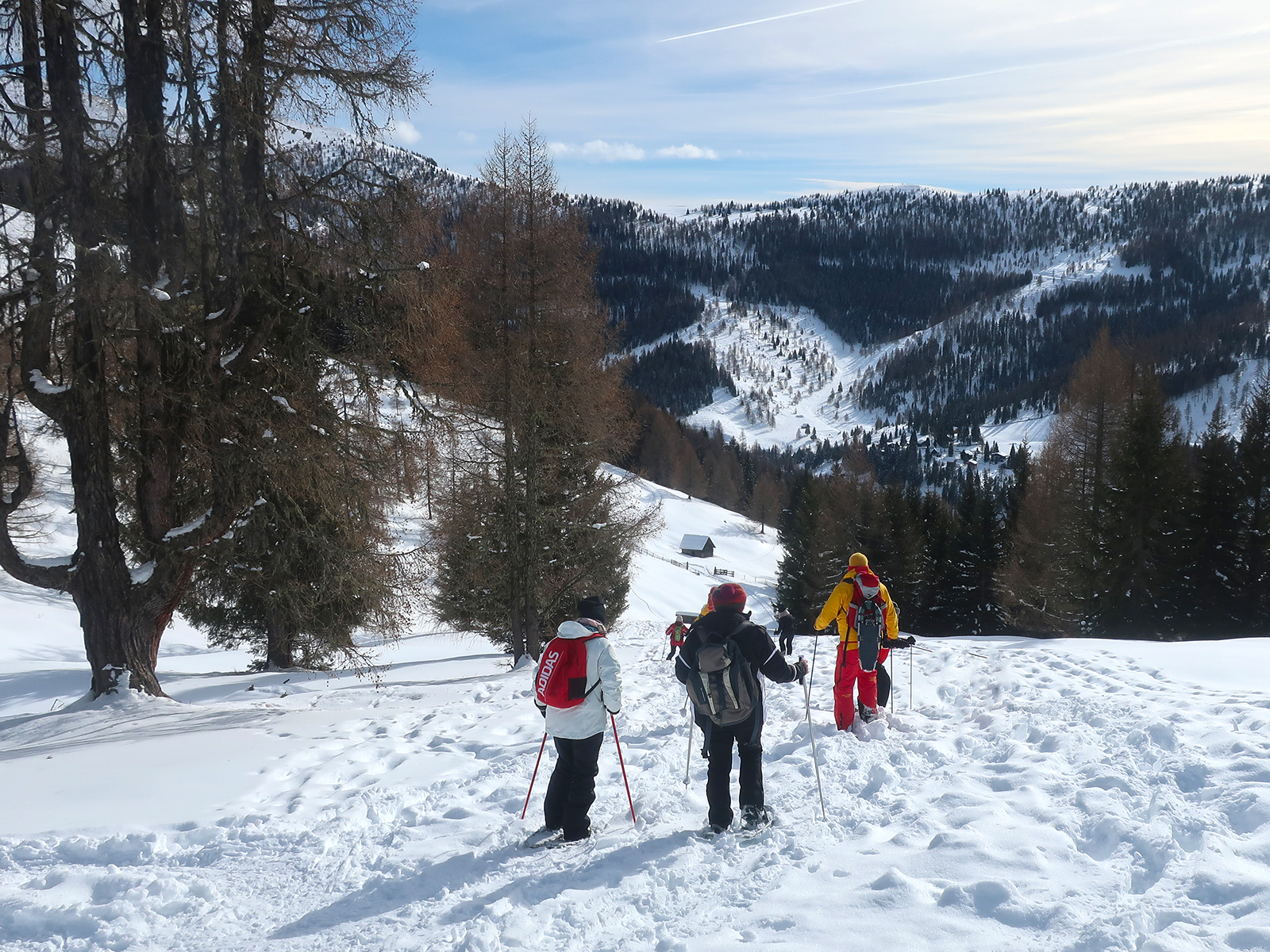 Kärnten für alle Sinne (Teil 2): Schneeschuhwandern in Bad Kleinkirchheim