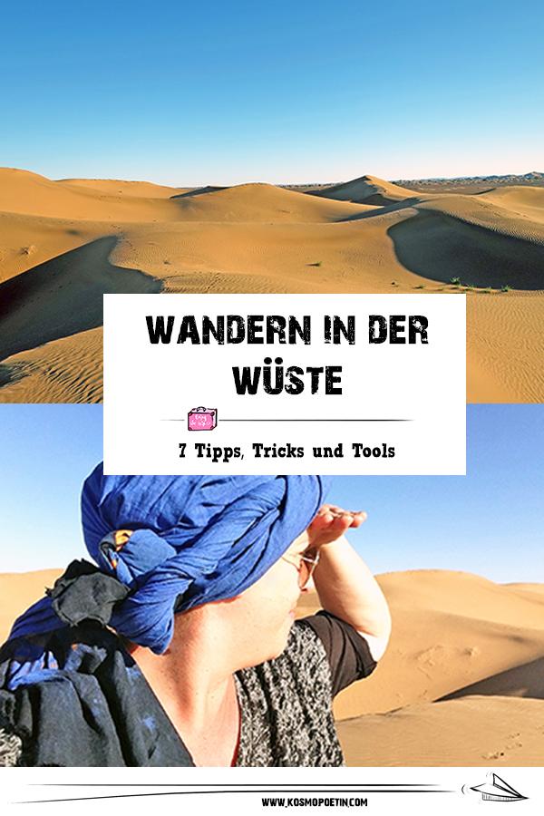 Wandern in der Wüste: 7 Tipps & Tools für eine Wanderreise durch die Sahara
