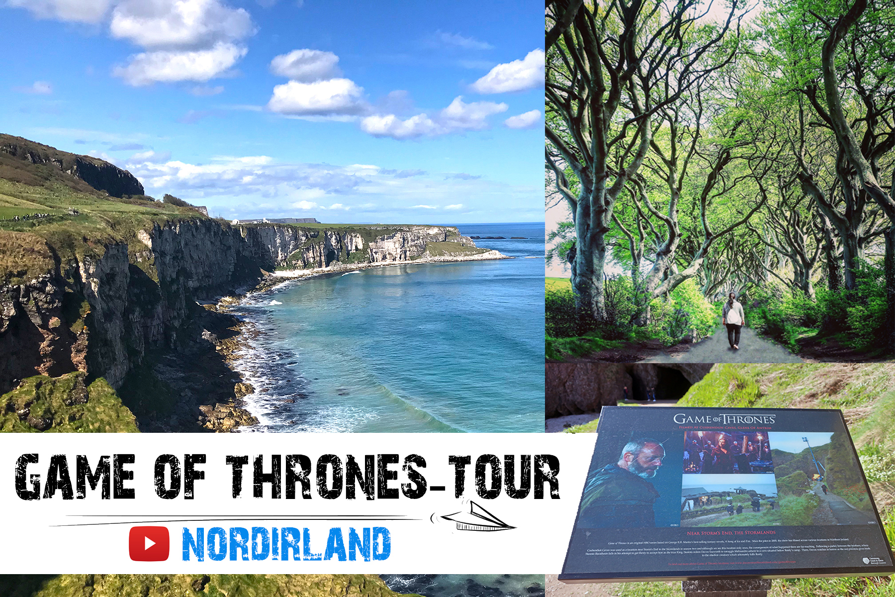 Reisevideo: Auf Game of Thrones-Tour in Nordirland