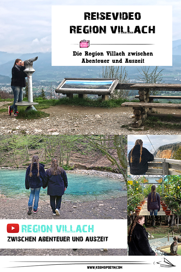 Reisevideo: Die Region Villach zwischen Abenteuer & Auszeit für Kids und Teens