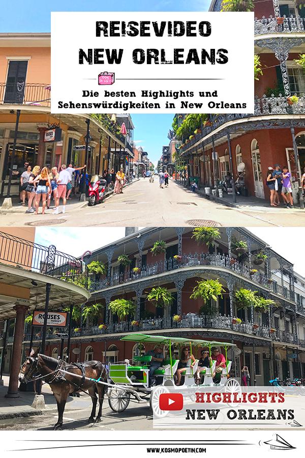 Reisevideo: Die besten Highlights und Sehenswürdigkeiten in New Orleans