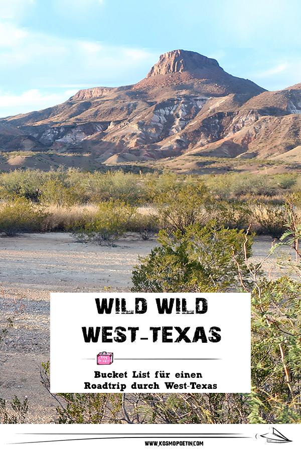 Roadtrip durch West-Texas