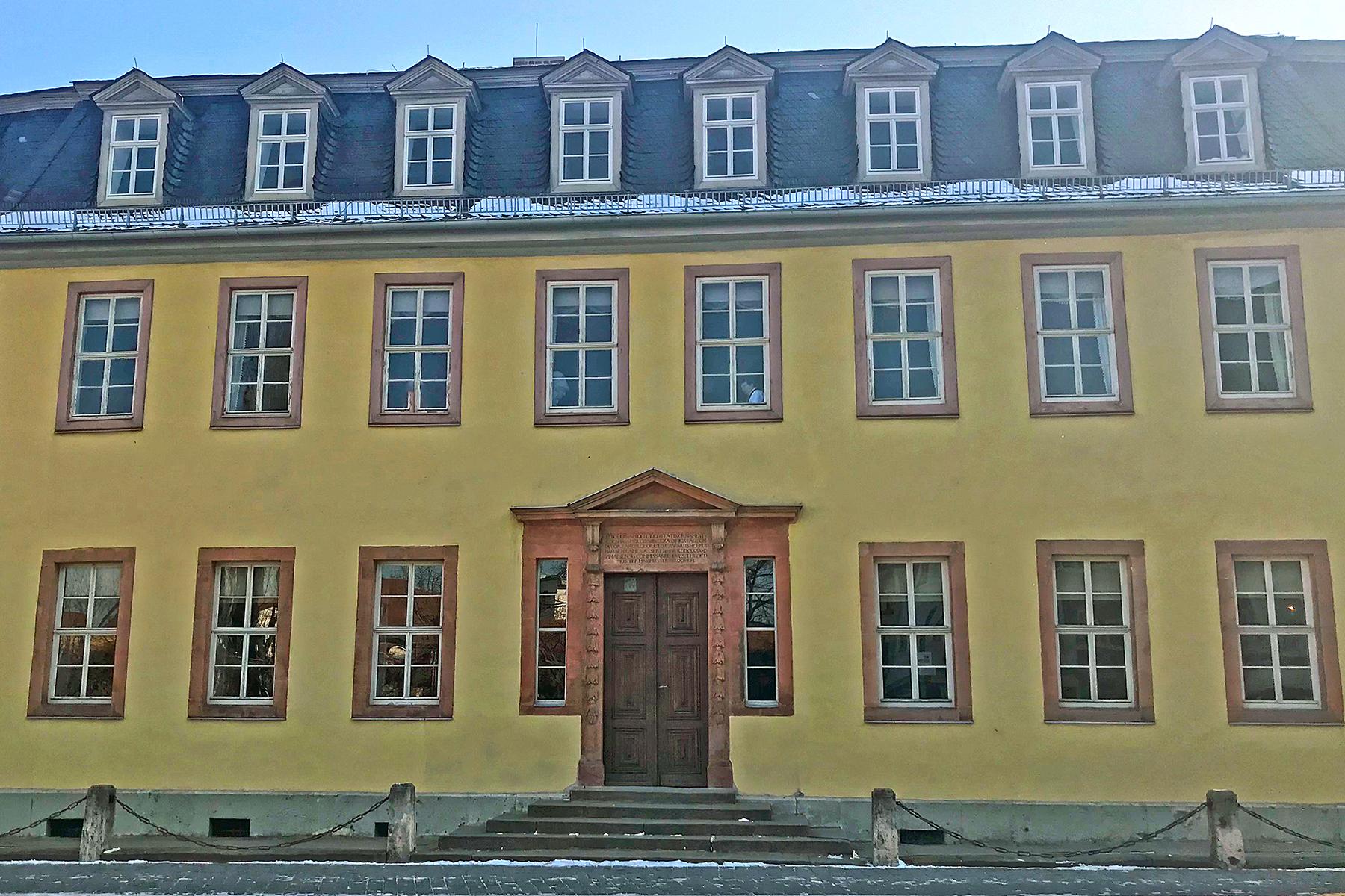 Goethe in Weimar: 9 Orte in Weimar, wo man Johann Wolfgang von Goethe begegnet