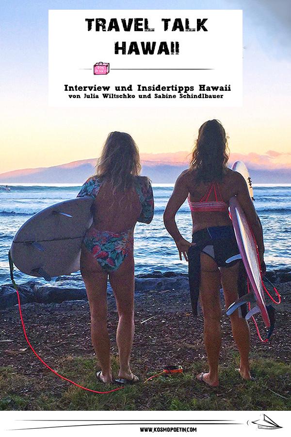 Travel-Talk Hawaii: Interview & Insidertipps für Hawaii