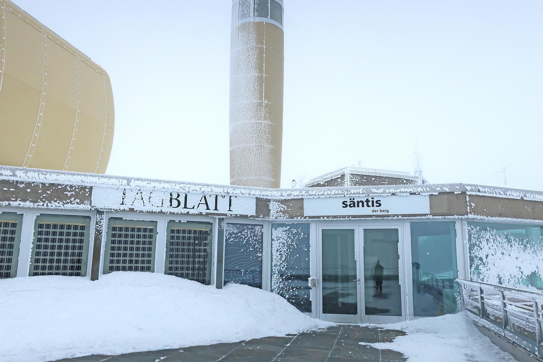 Sturm, Schnee & Säntis: Gefangen auf dem Gipfeli!