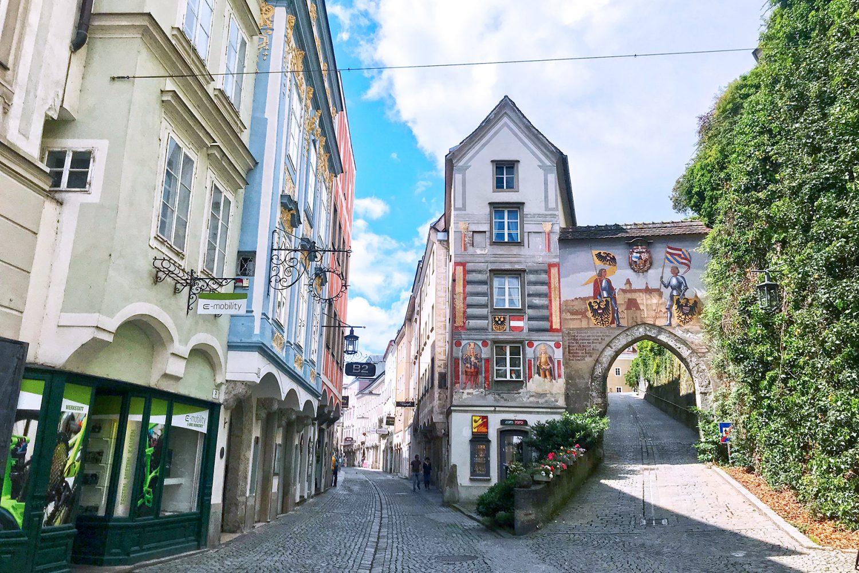 Zweiflüsse-Stadt Steyr