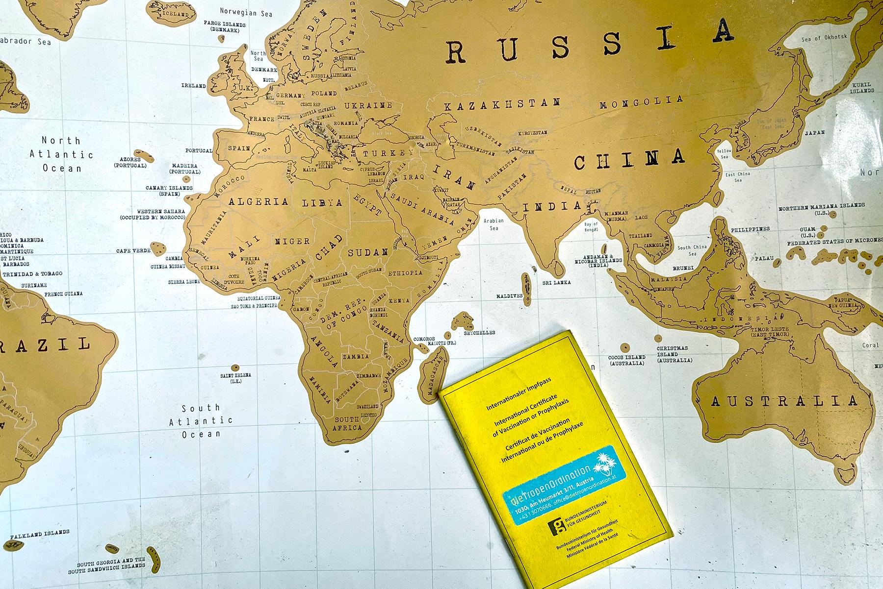 Reisen und Impfen: Welche Reiseimpfungen sind notwendig?