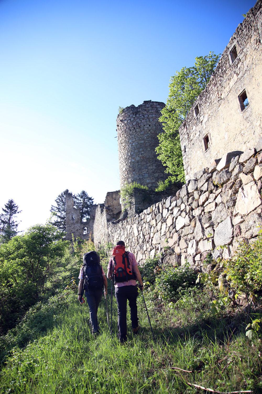 Burgen- und Schlösserweg: Grenzüberschreitender Wanderweg im Mühlviertel und Südböhmen